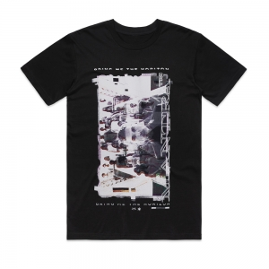 This T-shirt features an image from Bring Me The Horizon's music video clip for their song Mantra