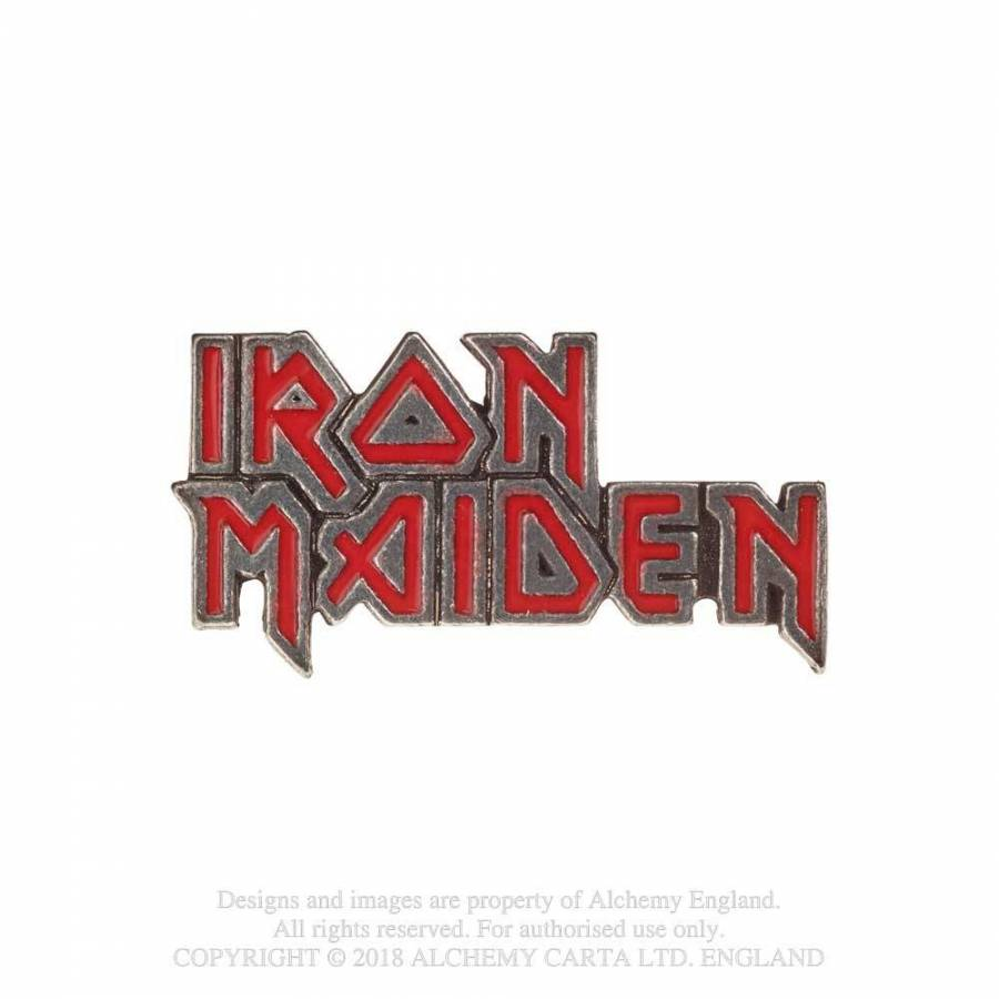 Iron Maiden // Enamel Logo Pin