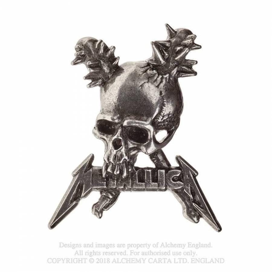 Metallica // Damage Skull Pin