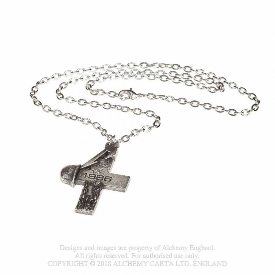 Metallica // Master Of Puppets Cross Pendant