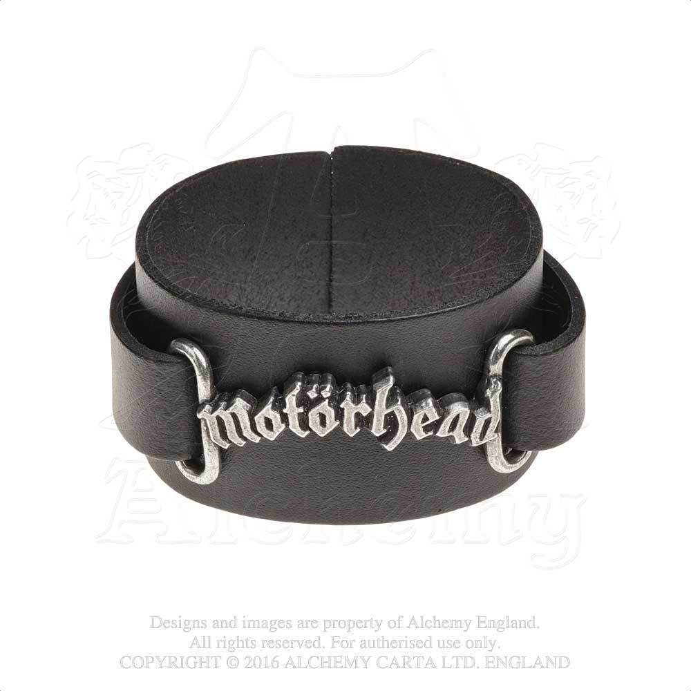 Motörhead // Logo Leather Wriststrap