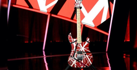 Eddie Van Halen Honoured