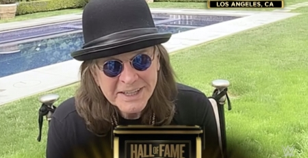 Ozzy Osbourne - WWE Hall of Fame